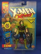 X-Force Rictor Power Vibes X-Men Animated Series Era Action Figure MOC ToyBiz