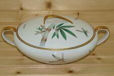 """Noritake Canton Bamboo Round Covered Vegetable Serving Bowl, 9 1/4"""""""