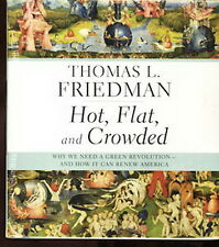 Audio book - Hot, Flat & Crowded by Thomas L Friedman   -   CD