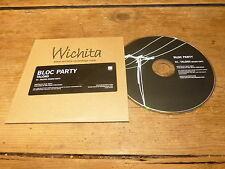 BLOC PARTY - TALONS !!!!!!!!!!!! MEGA RARE PROMO CD !