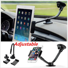 Long Arm Car Phone Tablet Mount Holder Windshield 5'' 7'' Holder for iPhone Htc