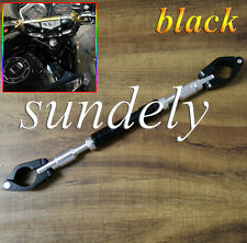 Brand New Hi-Q 7/8″ 22mm Universal Motorcycle Motor Bike Handlebar Brace Black