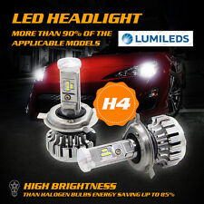 PHILIPS 160W 16000LM H4 9003 HB2 LED Headlight Kit Bulbs Hi/Lo Beam 6000K Canbus