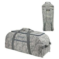 """31"""" LARGE ACU Military Dufflel Bag (Turn into Backpack) Travel Gym  Camouflage"""