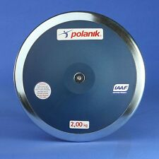 POLANIK Elite Competition Fiberglass DISCUS 2Kg,  FREE SHIPPING!