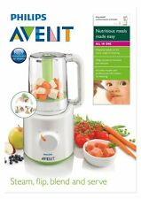 PHILIPS AVENT COMBINED STEAMER & BLENDER - BPA free blends steams 2 in 1