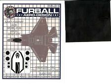 Furball Decals 1/48 LOCKHEED F-35C LIGHTNING Canopy & Wheel Hub Vinyl Mask Set