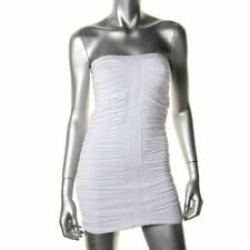 XOXO Strapless Ruched Bodycon Dress,FORMAL COCTAIL PARTY Size M