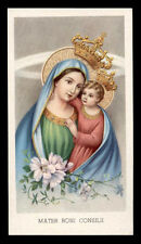 santino-holy card EGIM n.158 MADONNA DEL BUON CONSIGLIO