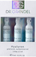 Dr Grandel Active Ampoules HYALURON AMPOULE 3 x 3 ml.with wrinkle fillers effect