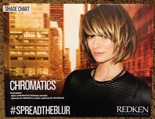 Redken Color Chromatics Remixed Shades Edition Hair Color Shade Chart NEW