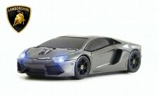 Lamborghini Aventador Wireless Car Mouse (Grey) - Officially Licensed