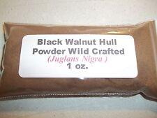 1 oz. Black Walnut Hull Powder (Juglans nigra) Wildcrafted