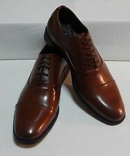 kenneth cole Men's Half-Time Sy Oxfords new with box (COGNAC) size 9. M # 4480-3