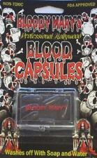 Bloody Mary's Realistic Blood Capsules 6 Pills Goth Vampire