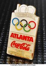 OLYMPIC PINS 1996 ATLANTA COKE COCA-COLA SPONSOR TOKYO JAPAN 100-YEAR
