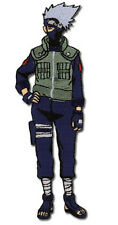 "Naruto Kakashi Figure Human Form 4.75"" Licensed Embroidered Patch, NEW UNUSED"