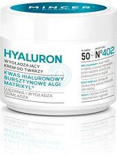MINCER HYALURON Antifalten Tagescreme Hyaluronsäure, Algen Matrixyl™ 50 + 50ml