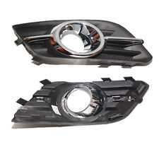 For Buick Encore 2013-2015 2PCS ABS + Plating Front Fog Lamp Grille replacement
