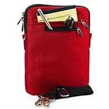Red Tablet Shoulder Strap Bag Pouch Sleeve Case for Samsung Galaxy Tab A S2 9.7""