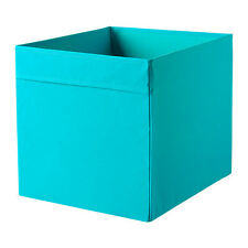 2X IKEA BLUE DRONA STORAGE BOX Great For Toys, Clothes & Magazine, Kallax Unit