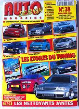 AUTO DESIGN n°38 du 3/2001; Peugeot 306/ Mercedes C 320/ Coupé/ E36/ Fiat Bravo