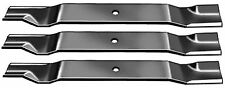 "3 HUSTLER MOWER BLADES 72"" CUT SUPER Z MDLS 783977"