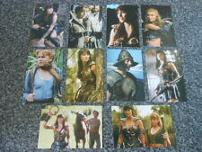 XENA WARRIOR PRINCESS POSTCARDS