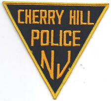 **CHERRY HILL NEW JERSEY POLICE PATCH**