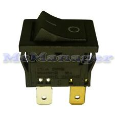 DPST aggancio rocker switch 12A / 250V 13x19mm