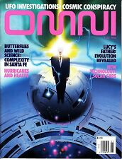 Omni Magazine May 1994 UFO Investigations Cosmic Conspiracy Santa Fe Butterflies
