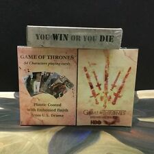 Deck of Playing Cards A Song Of Fire And Ice Game of Thrones You win or you die