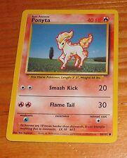 1999 Ponyta Basic Pokemon Card 60/102