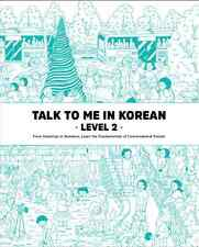 Talk To Me In Korean Level 2 Book Hangul Grammar Intermediate 2015 Edition New