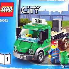 Lego Cargo Truck & Driver Minifigure (City Cargo Train 60052 B1) New