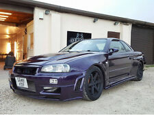 Nissan Skyline R34 Side Skirt Extension Spoiler Splitter  RB JZ SR Nismo Drift