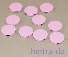 LEGO - 10 x Rundfliese 2x2 hellrosa / bright pink / Rundfliesen / 4150 NEUWARE