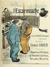 A4 photo ibels Henri Gabriel les affiches illustrees 1886 1895 1896 lescarmouche