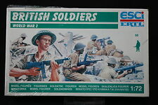 YB144 ESCI 1/72 maquette figurine P-200 Soldats anglais WWII NB