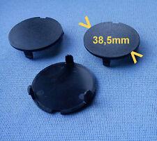 (2544) 6x rund Kappe für Motorabdeckung Motorhaube Kofferraum CLIPS schwarz 38mm