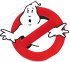 "GHOSTBUSTERS NO GHOST LOGO SCREEN ACCURATE LARGE 8"" JACKET PATCH (GBPA-BIG)"