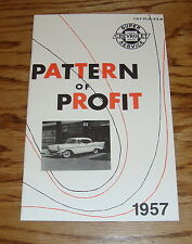 1957 Chevrolet Pattern of Profit Sales Booklet Brochure 57 Chevy