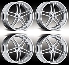 "18"" inch Sport Pro Wheels Boost Forged Staggered 2 Piece Billet Alloy Rims dub"