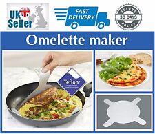 Paquete De 2 Antiadherente Tortilla panqueques Crepes Sartén de aluminio Makers los trazadores de líneas de teflón