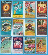Starter Original Vintage Firecracker Label Lot