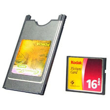 Hot Sale CF Card Reader Compact Flash Adapter Converter to PC Laptop PCMCIA