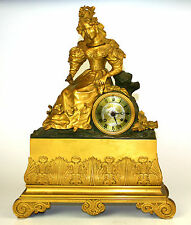 MANTELPIECE CLOCK. ORMOLU. WITH CHIMING. STYLE NAPOLEON III. FRANCIA.XIX