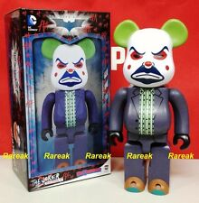 Medicom 2016 Be@rbrick DC Comics Batman 400% Joker Bank Robber Bearbrick 1pc