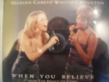 Whitney Houston & Mariah Carey - When You Believe CD Single with I am Free