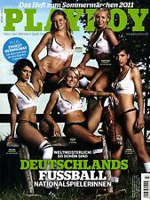 Playboy Juli/07/2011   FUSSBALL NATIONALSPIELERINNEN